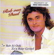 (BI145) Rob Van Daal, Heb Jij Ook Zo'n Raar Gevoel - CD