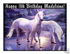 Mystical horses edible cake image frosting sheet party cake decoration