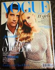 Vogue Espana 10/2011 Toni Garrn Clive Owen Megan Fox Julia Restoin Roitfeld