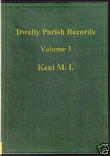 Genealogy - Dwelly's Parish Records Vol. 3 (Kent M.I)