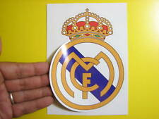 """BEST PRICE LOT OF 10 SOCCER DECAL / STICKER REAL MADRID SPAIN / ESPAÑA 4.5"""" X 6"""""""