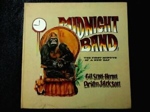 GIL SCOTT HERON,BRIAN JACKSON MIDNIGHT BAND FIRST MINUTE OF A NEW DAY TOP COPY!