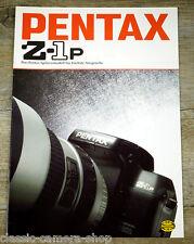 Prospekt PENTAX Z-1P von 1997* Kamera und SMC Pentax Objektive Broschüre (X4079