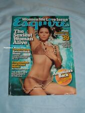 JESSICA BIEL 2005 Esquire Magazine ANGELINA JOLIE Poster SIENNA MILLER Rare
