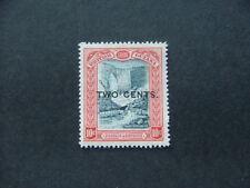 British Guiana 1899 2c on 10c  blue-black & brown-red SG223 MM