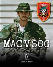 Book Mac V SOG Team History of a Clandestine Army Volume IV Special Forces