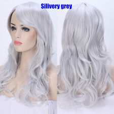 Cosplay Anime Ombre Dip Dyeing Full Wig 100% Synthetic Hair Real Heat Resistant