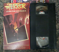 VHS: Terror of Doctor Hitchcock: Barbara Steele horrible dr. 1962 Dura Vision