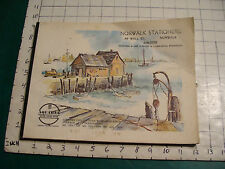 vintage AQUABEE Water color paper: 12 pages, unused, but 2 have some brown on