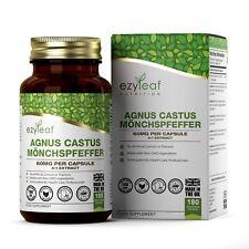 Agnus Castus (Vitex Gattilier Fruit ) Extrait 60mg 180 Veg Capsules Hormones