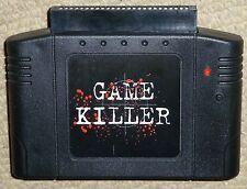 Juego de Nintendo 64 N64 Cartucho de código de trucos asesino Sistema De Carro De Adaptador! Raro! Mario