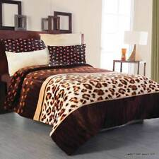 Flannel Animal Print Blankets Throws Ebay