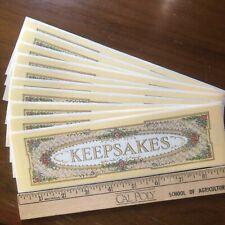 10 Frances Meyer Keepsakes Banner Stickers Memories Photos Scrapbook Letters