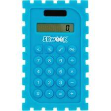 SKWEEK Kids Calculator Silicone Blue 110X113X14MM