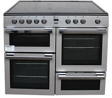 FLAVEL MLN10CRS 100cm Electric Range Cooker in Silver