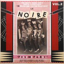 LA NOIRE VOL.2  LP Please Mr Playboy ! V.A 60's Soul, Blues, Rhythm 'n Blues NEW