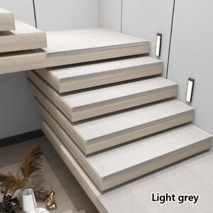 1PC Self-Adhesive Carpet Stair Treads Non-slip L-shaped Silence Steps Mat Crafts