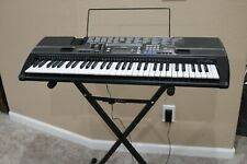 CASIO CTK-720 Electric Keyboard with Plug in Charger and Foldable Stand
