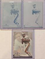 SET LOT OF 2 BOB GRIESE 1994 TED WILLIAMS PRINTING PLATES MIAMI DOLPHINS 1 OF 1