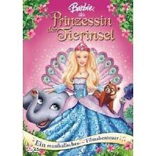 BARBIE ALS PRINZESSIN DER TIERINSEL -  DVD NEU