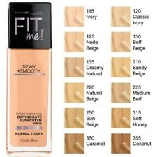 MAYBELLINE FIT ME LUMINOUS & SMOOTH |235 Medium Buff Shade |