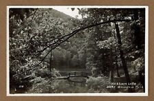 RPPC Hessian Lake, Bras Mountain State Park, NY New York used 1931