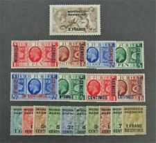 nystamps Great Britain Offices Abroad Morocco Stamp # 226/425 Mint Og H/Nh $32