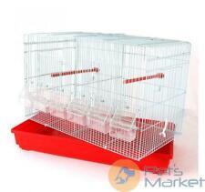 Pets Gabbia cova per uccelli canarini e pappagallini 58x32x36h