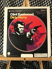 Dirty Harry RCA CED SelectaVision VideoDisc Tested Works