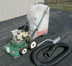 Billy Goat 3.5 HP lawn leaf vacuum