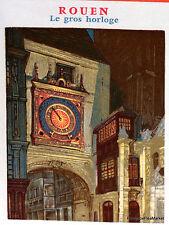 Yt  1875 A ROUEN LE GROS HORLOGE  FRANCE  FDC  ENVELOPPE PREMIER JOUR