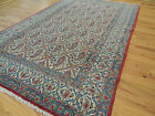 Antique  4x6, 4x7 5x7 Oriental Area Rug Paisley wool blue gold red