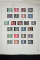 Great Britain 1910 to 1970 Stamp Collection