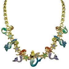 Kirks Folly Mermaid Madness Necklace goldtone
