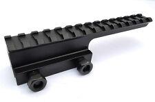 """1"""" Extended Riser Scope Mount High profile aluminum Picatinny Riser 14 slot"""