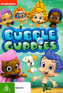 Bubble Guppies -DVD Series Rare Aus Stock -Family New Region 4