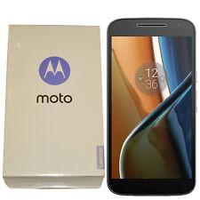 BNIB Motorola Moto G4 16GB XT1622 Single-SIM Black Factory Unlocked 4G Simfree