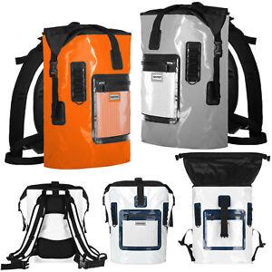 anndora Rucksack 35 L Backpack wasserdicht Rollverschluss Bauchgurt ergonomisch