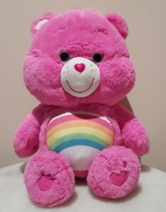 """Care Bears - Cheer Bear 13"""" Talking Plush"""