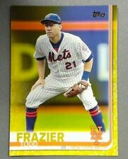 2019 Topps Series 1 #205 TODD FRAZIER Walgreens Yellow Parallel Mets