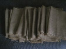burlap table runners lot of 11 used in great condition