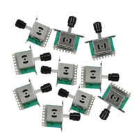 Set of 10pcs 3 Way Guitar Switches Pickup Selector Switch for Tele Style Guitar