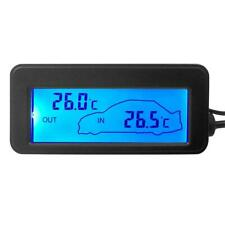 12V Digital Backlight LCD Auto Car Vehicle Temperature Thermometer Meter Monitor