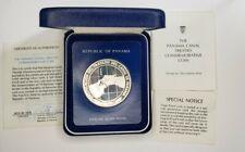 1978 Panama Silver 10 Balboas Proof Canal Commem 45mm .9251.26 ASW