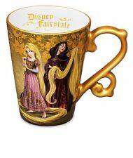 NEW Rapunzel and Mother Ceramic Mug Cup Disney Fairytale Designer Collection NIB