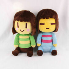 """8"""" Undertale Frisk and Chara Plush Doll Soft Stuffed Pillow Toy Kids Xmas Gift"""