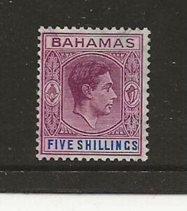 Bahamas 1951 5/- sg.156e used