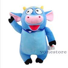 DORA THE EXPLORER Benny Cow Soft Cuddly Stuffed Plush Toy Doll Kids GIft 35CM