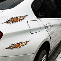 3D Car Styling Eagle/Tiger Eye Peeking Sticker Waterproof Car_Accessories C6G9