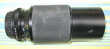 VIVITAR Ø62 75-205 MM ZOOM LENS - FOR PENTAX P(K) - DAMAGED - PERTH PICKUP